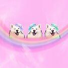 Bubblegum Doge by bunhuggerdesign