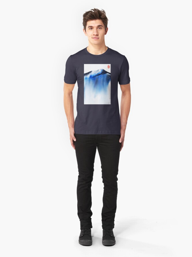 Alternate view of Quiet Mountain Slim Fit T-Shirt