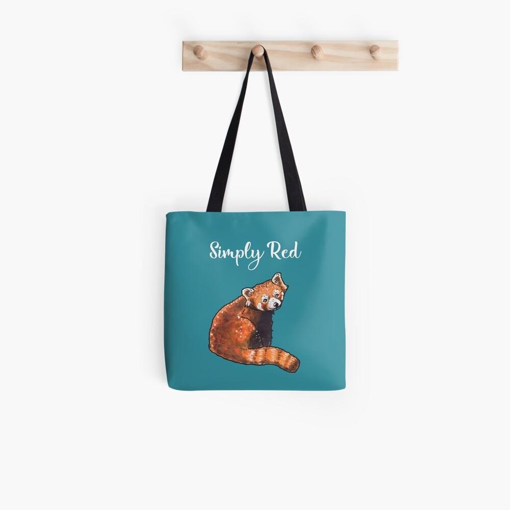 Red Panda - Animal series Tote Bag