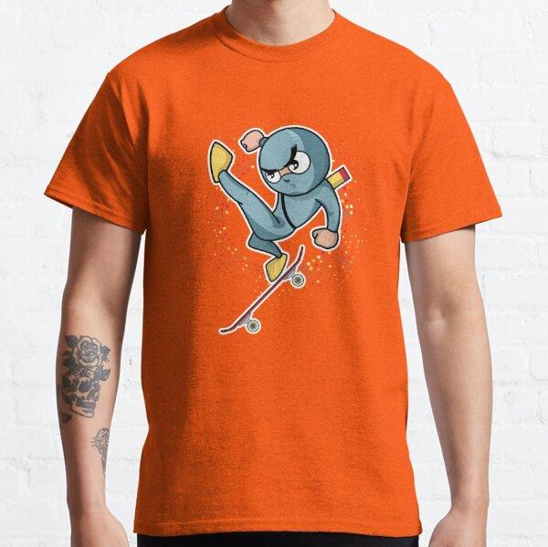 Ninko Ninja Ollie North . Skateboarding Showdown Classic T-Shirt