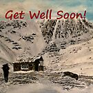 Scottish Mountain - Get Well Soon Card by EuniceWilkie