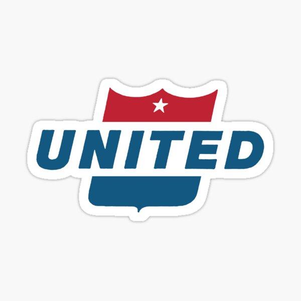 Vintage United Airlines sign Sticker