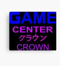 Sailor Moon Crown Arcade  Canvas Print