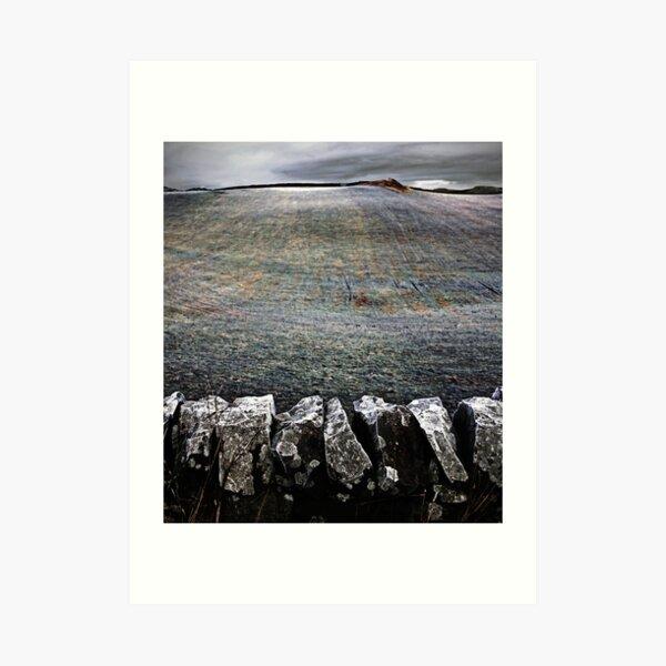 Drystone + Frostfield Art Print