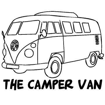 The Camper Van Design by tidyware