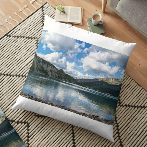 French Lake Floor Pillow