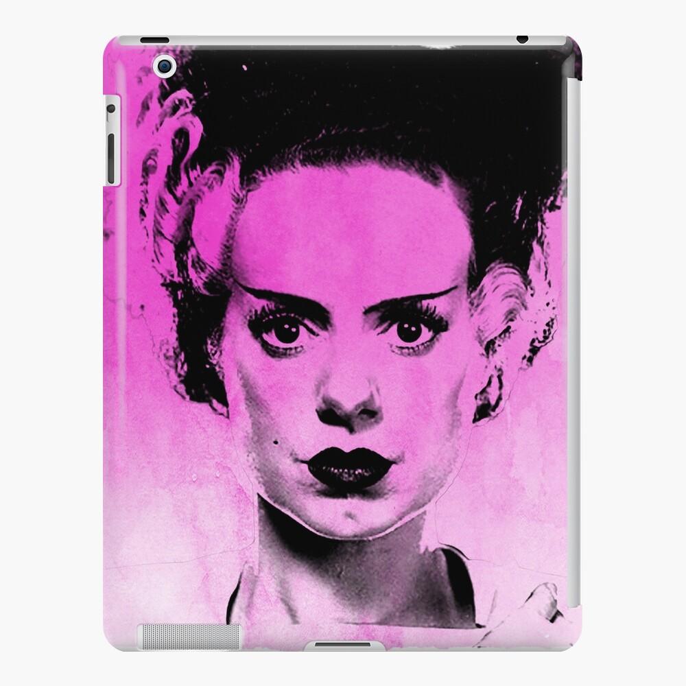 Novia de Frankenstein en rosa Funda y vinilo para iPad