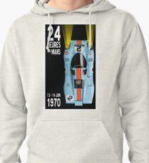 Gulf Porsche 917 24 Heures du Mans 1970 Pullover Hoodie