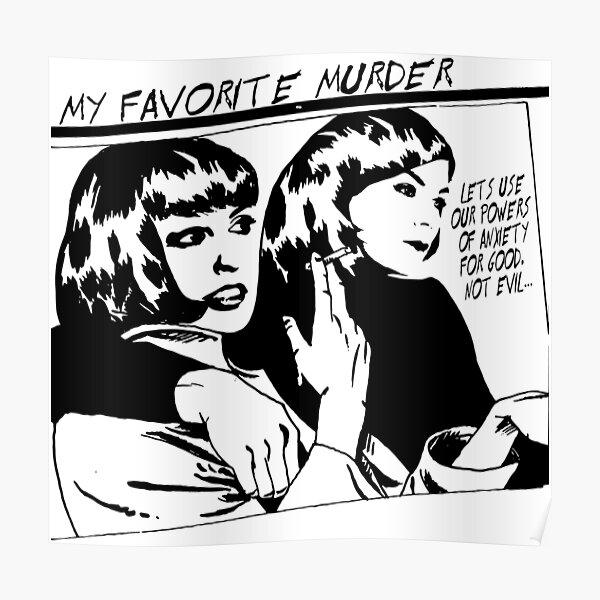 MY FAVORITE MURDER SONIC YOUTH GOO Poster