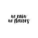 «Sin lluvia no flores» de Claire Chesnut