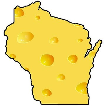 Wisconsin Cheese State by baileymincer