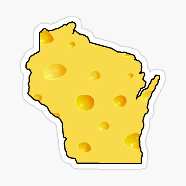 Wisconsin Cheese State Sticker
