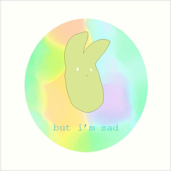 Sad Rabbit by slugspoon