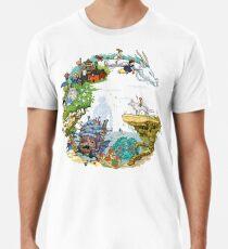 Tribute Color (with caption) Men's Premium T-Shirt