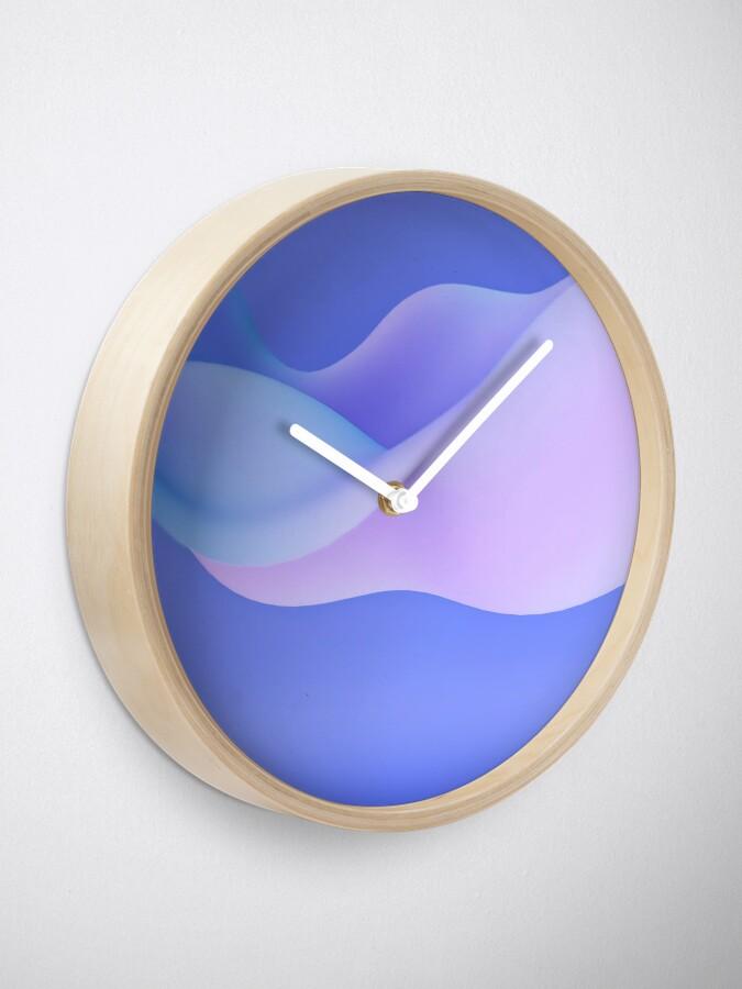 Alternate view of Indian Iris Clock
