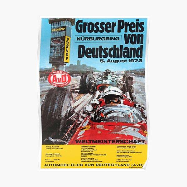 German Grand Prix 1973 Nurburgring  Poster