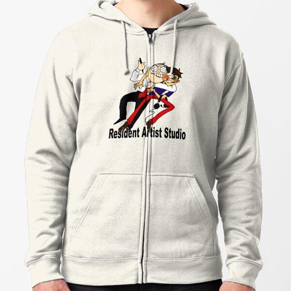 RA Studio Logo Zipped Hoodie