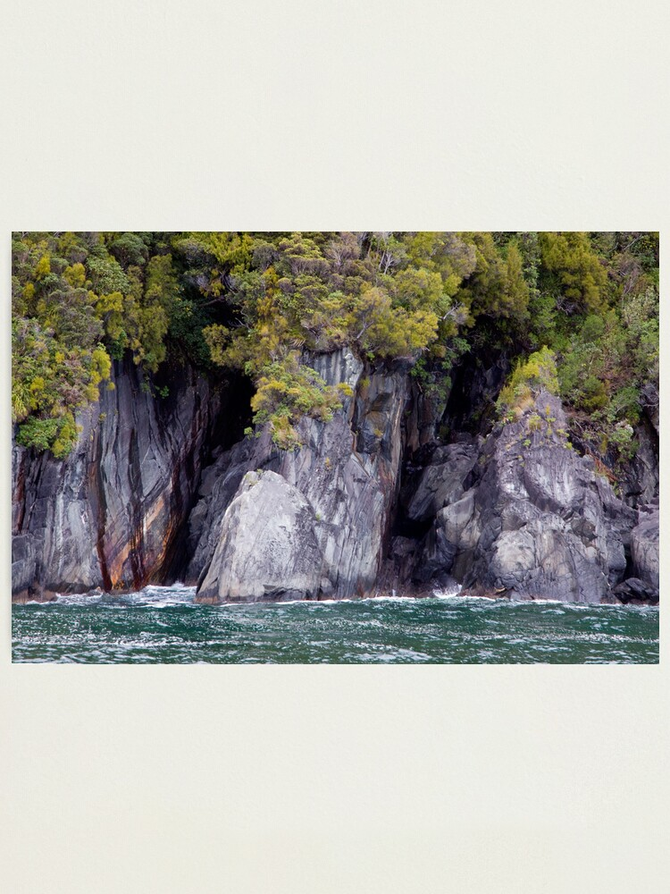 Alternate view of Green on Green, New Zealand Style Photographic Print