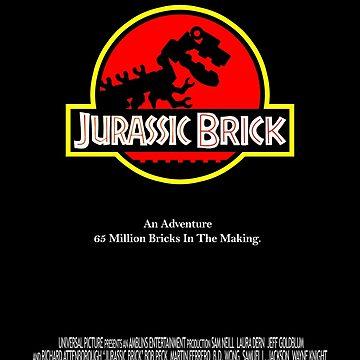 Jurassic Brick by studio-88