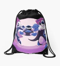 Deltarune - Villains Drawstring Bag