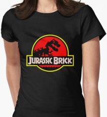 Jurassic Brick Women's Fitted T-Shirt