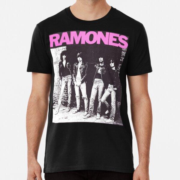Chemise Ramones en vinyle T-shirt premium
