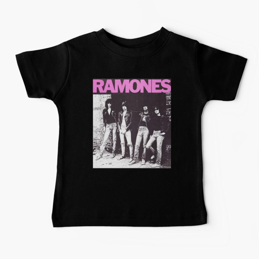 Ramones shirt from vinyl Baby T-Shirt