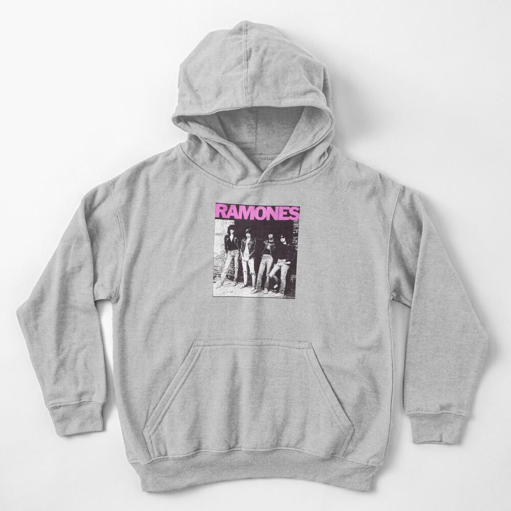 Ramones shirt from vinyl Kids Pullover Hoodie