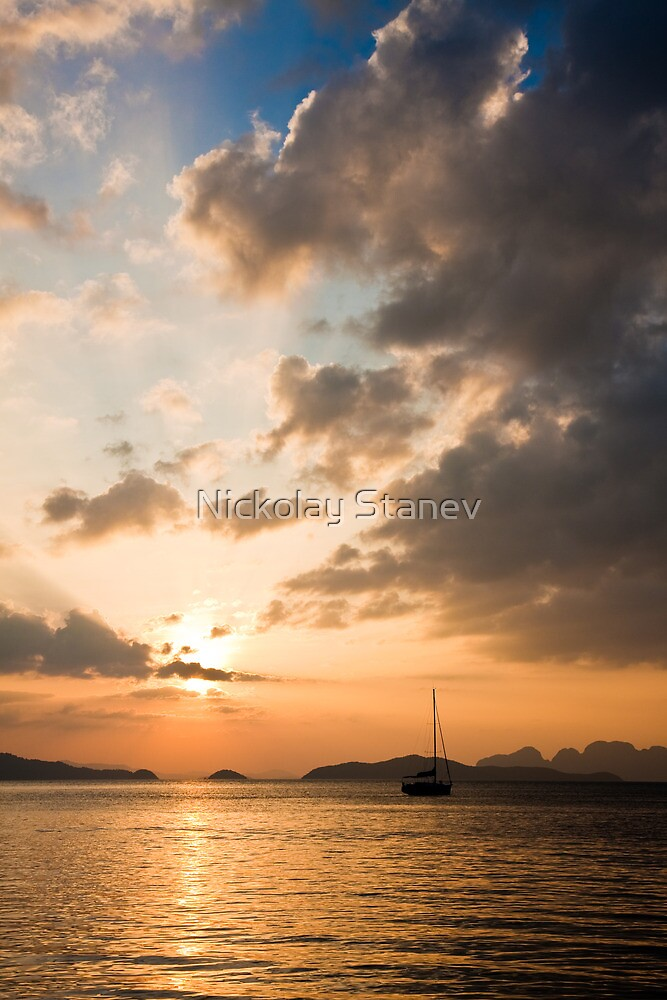 Tropical Sunset by Nickolay Stanev