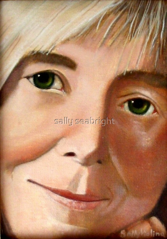 Portrait of Judi by sally seabright
