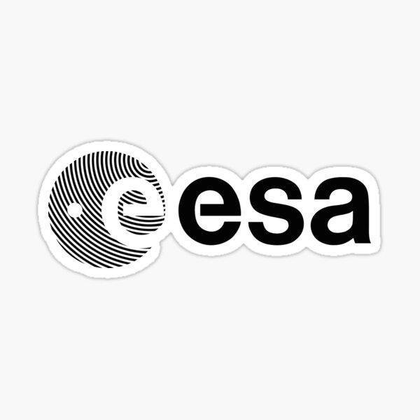 European Space Agency logotype Sticker