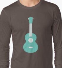 Best Guitar Cool Minimal Design Long Sleeve T-Shirt
