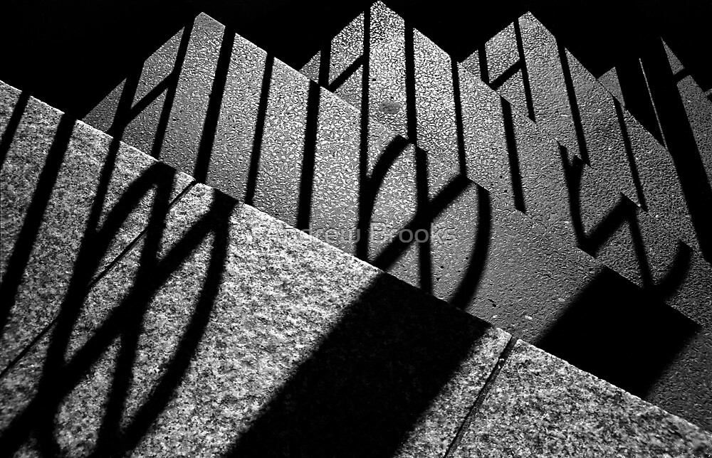Step Shadows by Andrew Brooks