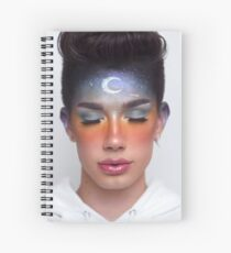 James Charles  Spiral Notebook