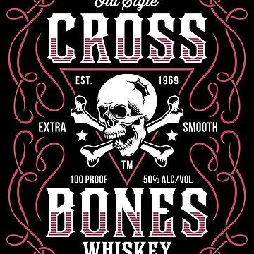 Whiskey - Cross Bone Brand by Skullz23