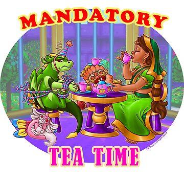 Mandatory Tea Time by IDH-merch