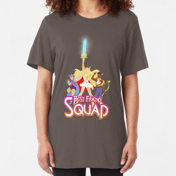 Best Friend Squad Slim Fit T-Shirt