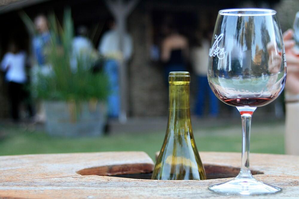 Saddle Rock Vineyard Wine Tasting, Santa Monica Mountains by Michael Berns