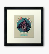 Mountain of Madness Framed Print