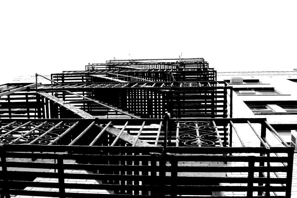 New York Building 2 by Michael Berns