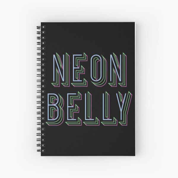 Knee On Belly Spiral Notebook