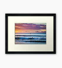 Dreamy Sunrise Framed Art Print