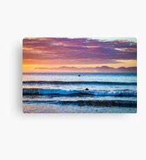 Dreamy Sunrise Canvas Print