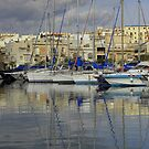 Masts and Clouds by mmrich