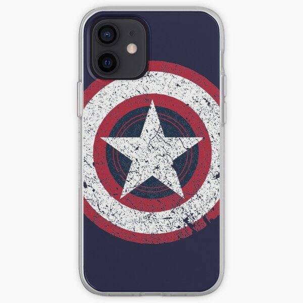 America Hero Logo Vintage iPhone Soft Case