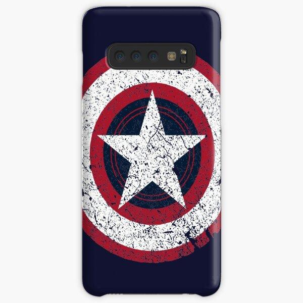 America Hero Logo Vintage Samsung Galaxy Snap Case