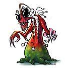 Xmas Beastie #3 by trickmonkey