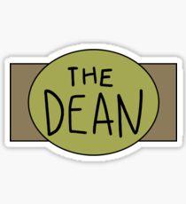 The Dean Championship Belt Sticker