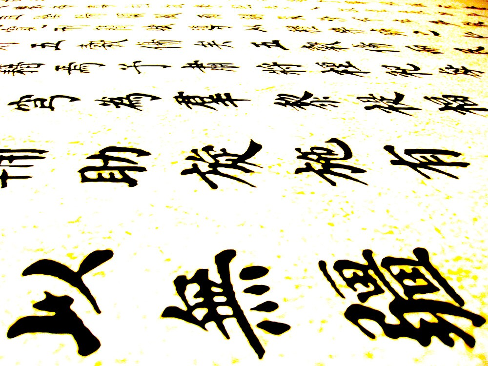 Chinese Characters by Michael Berns