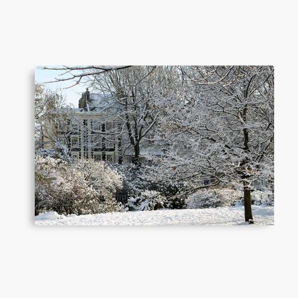 The icing on the Steine Canvas Print